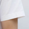 OAR heavy quality sustainable organic white T-shirt sleeve